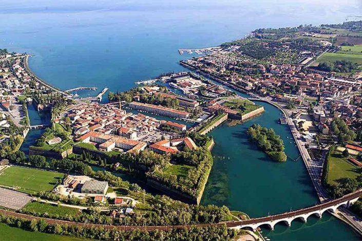 Die Festungsstadt Peschiera del Garda